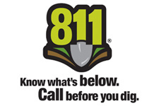 Image of the 811 - Call before you dig logo