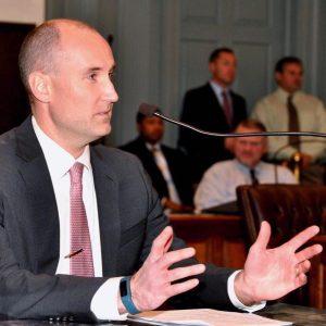 Picture of the Delaware Public Advocate Andrew C 'Drew' Slater